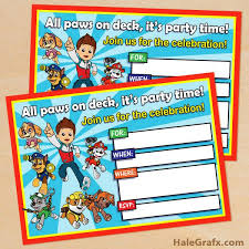 25 unique paw patrol birthday card ideas on pinterest paw