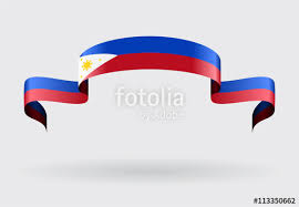 philippines flag background vector illustration stock image and
