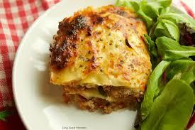 diabetic dishes diabetic lasagna recipe living sweet moments