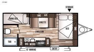 the vintage model 684 travel trailer floor plan vintage travel