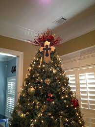 cross christmas tree topper holidays pinterest tree toppers