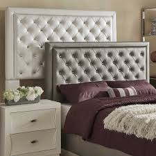 leather tufted headboard beds ireland platform bed with button