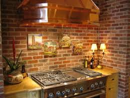brick kitchen ideas 48 best brick as backsplash images on architecture