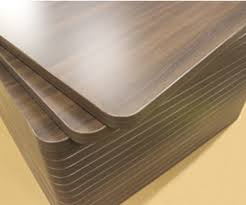 table de cuisine en stratifié plateau de table stratifié sur mesure cuisine naturelle