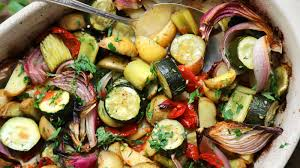 paula wolfert u0027s roasted vegetables with garlic and herbs recipe