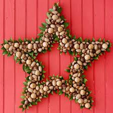 Decorating Christmas Wreaths by Colorful Star Christmas Wreaths For Door Decorations