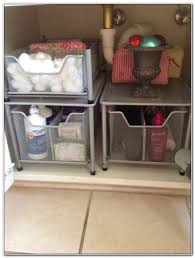 under sink storage solutions bathroom sinks and faucets home