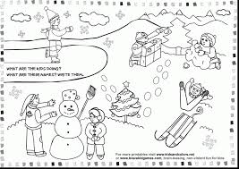 astonishing printable winter worksheets for kids with winter