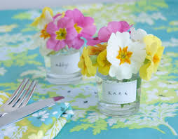 flower posies on a spring table ideas for easter table set u2026 flickr