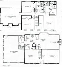 3 bedroom home plans 3602 0810 square 4 bedroom 2 story house plan european house