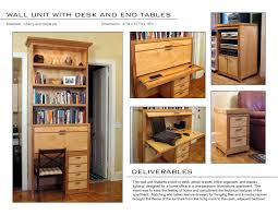 Office In The Living Room Furniture By Snow Galvin At Coroflot Com