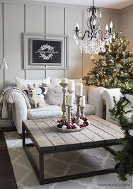 Christmas Decoration For Living Room Table 30 Fabulous Christmas Decorated Living Rooms To Inspire