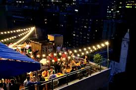 Rooftop Deck Design by Rooftop Lighting Inspiration For A Modern Landscape In Chicago