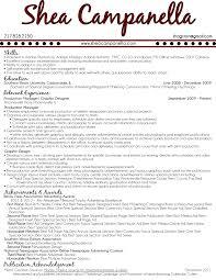 resume shea canella