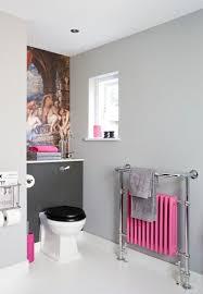 deco wc campagne décoration toilettes rose