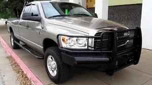 2008 dodge ram 2500 4x4 diesel six speed auto ranch hand bumper