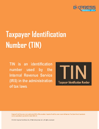 taxpayer identification number tin