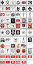 love and hate symbols