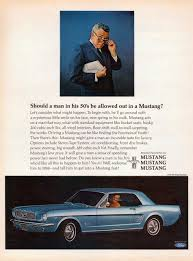 ford mustang ads virginia mustang mustang ads from the 1960s