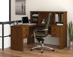 Hutch With Desk by Bestar Somerville L Desk With Hutch