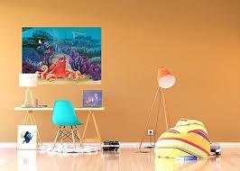 Amazoncom WallandMore Finding Nemo Disney Wall Decals Murals For - Disney wall decals for kids rooms