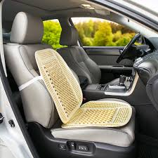 amazon com wagan in9912 bead and rattan cool seat cover automotive