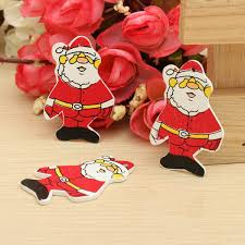 popular wooden hanging santa decoration buy cheap wooden hanging