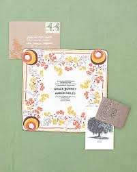 easy ways to upgrade your wedding invitations martha stewart