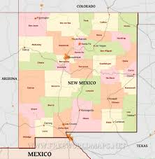 Physical Map Of The United States by New Mexico Maps