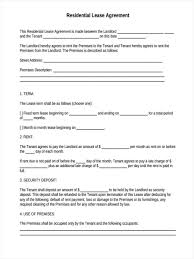 Rental House Lease Agreement Template 29 Free Lease Form