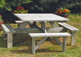 Outdoor Furniture At Bunnings - heavy duty solid outdoor timber picnic tables melbourne