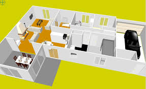 plan maison simple 3 chambres formidable plan maison etage 3 chambres gratuit 3 plan maison