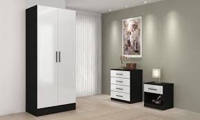 High Gloss Bedroom Furniture by High Gloss Bedroom Furniture Set Groupon