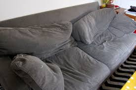 Saggy Sofa Support How To Fix Crumpled Sofa Back Cushions Modhomeec