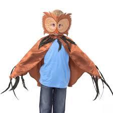owl costume owl cape mask costume locket toys gifts