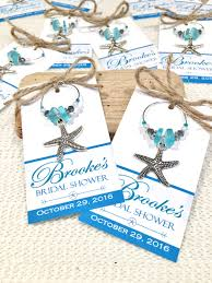 personalized bridal shower favors bridal shower favors bridal shower starfish charm