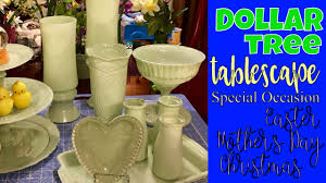 dollar tree tablescape elegant holiday or special occasion table