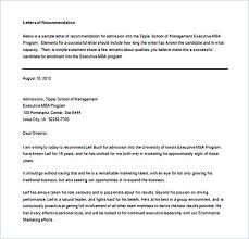 15 letter of recommendation format basic template to customize