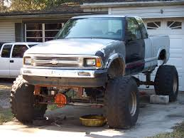 mudding truck for sale outlawed 1995 chevrolet s10 extended cabpickup u0027s photo gallery at