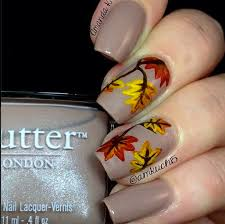 299 best fall thanksgiving nails images on pinterest fall nail