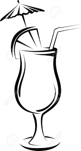 martini shaker clipart cocktail clipart black and white clipartpig
