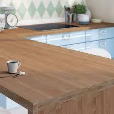 protection plan de travail bois cuisine plan de travail sur mesure bambou ep 38 mm leroy merlin