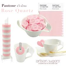 pink pantone pantone rose quartz sugars for your wedding artisan sugars
