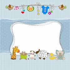 baby shower frames baby shower frame free vector in adobe illustrator ai ai