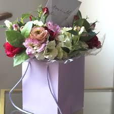 Faux Flower Arrangements Diy Artificial Faux Flower Mothers Day Bouquet