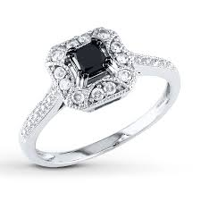 black and white engagement rings for engagement rings wedding rings diamonds charms jewelry from