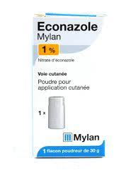 mycose siege nourrisson econazole 1 mylan poudre talc 30g traitement mycose