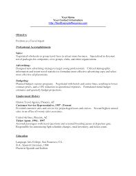 customer service travel resume templates franklinfire co