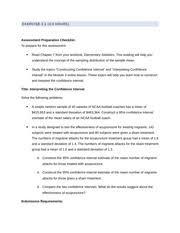 week9 confidence intervals worksheet math215 statistical