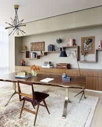 Tribeca Loft Desk by Sprawling Tribeca Triplex Boasting Mid Century And Modern Layout